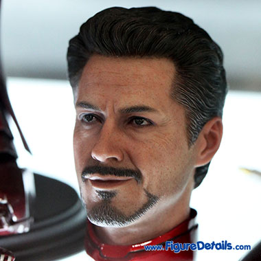 Tony Stark - Robert Downey Jr - The Avengers - Hot Toys Head Sculpt