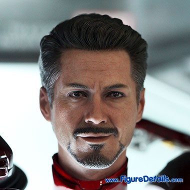Tony Stark - Robert Downey Jr - The Avengers - Hot Toys Head Sculpt 2