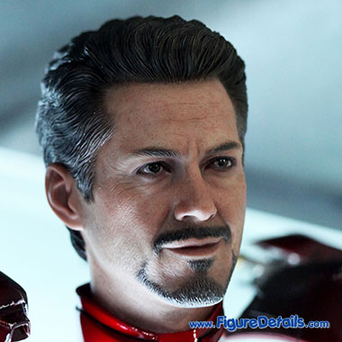 Tony Stark - Robert Downey Jr - The Avengers - Hot Toys Head Sculpt 3