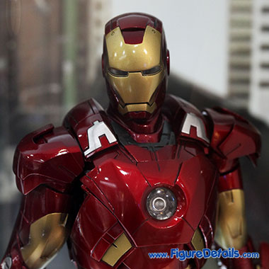 Tony Stark - Robert Downey Jr - The Avengers - Hot Toys Head Sculpt 4