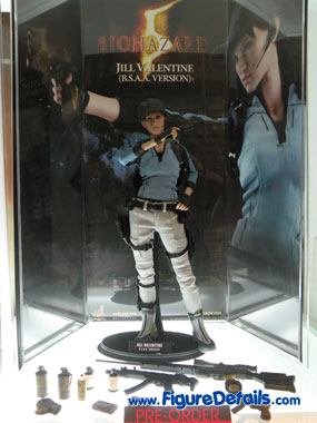 Hot Toys Jill Valentine ( B.S.A.A. Version ) Action Figure Overviews