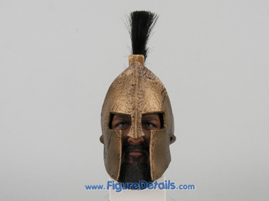 King Leonidas Hot Toys 12 inch Action Figure Helmet - 300
