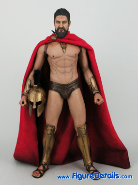 Hot Toys King Leonidas Action Figure Movie 300 MMS114