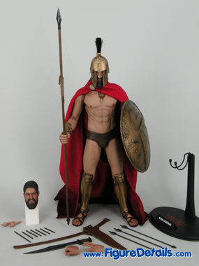 Hot Toys 300 King Leonidas Action Figure