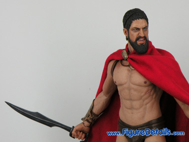King Leonidas Hot Toys 12 inch Action Figure Details - 300