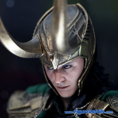 Loki - Tom Hiddleston - The Avengers - Hot Toys Figure