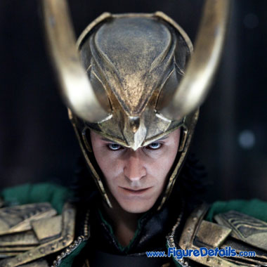 Loki - Tom Hiddleston Head Sculpt - The Avengers