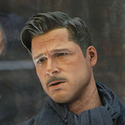 Hot Toys Lt Aldo Raine Action Figure MMS118 Inglourious Basterds