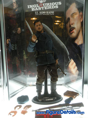 Lt Aldo Raine  Action Figure Preview