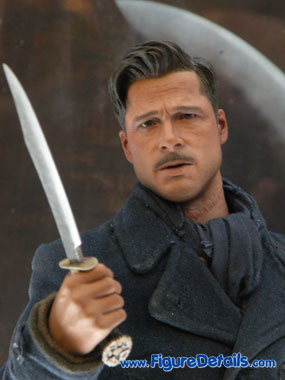 Lt. Aldo Raine Action Figure Close Up