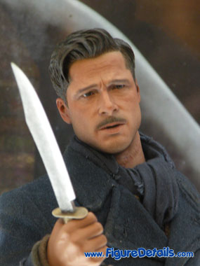 Lt. Aldo Raine Action Figure Close Up 3