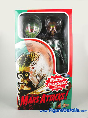 Hot Toys Mars Attacks Action Figure MMS108 Box