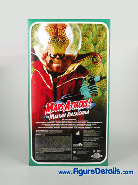 Hot Toys Mars Attacks Action Figure MMS108 Box 4