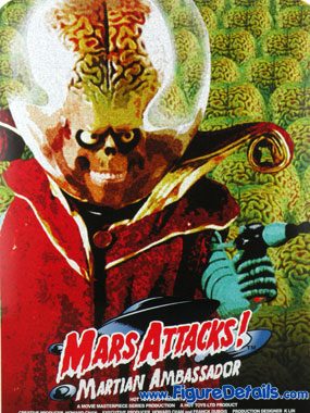 Hot Toys Mars Attacks Action Figure MMS108 Box 5