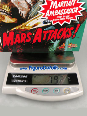 Hot Toys Mars Attacks Action Figure MMS108 Box 6