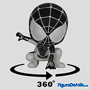 Negative Suit Spiderman Cosbaby cosb619 - Marvel Spiderman Game - Hot Toys