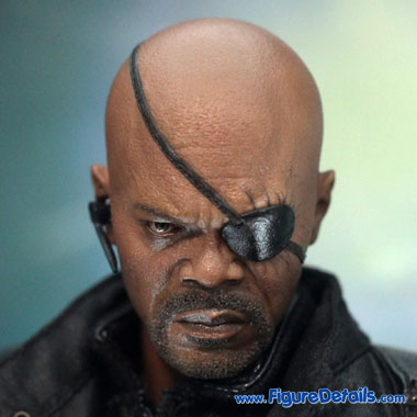 The Avengers Nick Fury Head Sculpt - Samuel L. Jackson