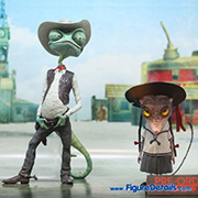 Hot Toys Rango and Priscilla Figures