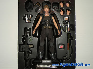 Hot Toys Sarah Connor Terminator 2 Packing 5