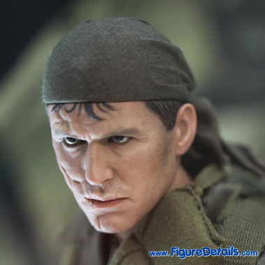 Platoon Sergeant Barnes Head Sculpt - Tom Berenger