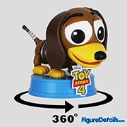 Slinky Dog Cosbaby cosb615 - Toy Story 4 - Hot Toys