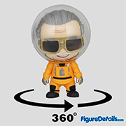 Stan Lee Cosbaby cosb673 - Guardians of the Galaxy 2 - Hot Toys