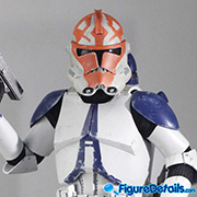 501st Battalion Clone Trooper Prototype Preview - Star Wars: The Clone Wars - Hot Toys - tms022 tms023