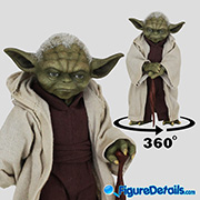 Yoda - Star Wars Episode II Attack of the Clones - Hot Toys