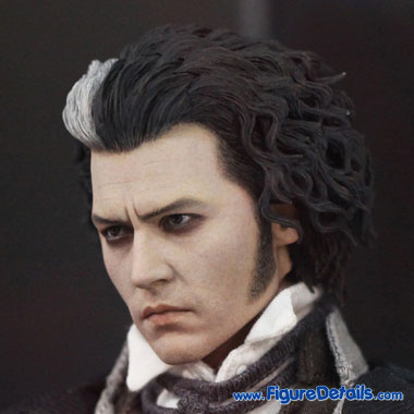 Sweeney Todd Head Sculpt - Johnny Depp 2