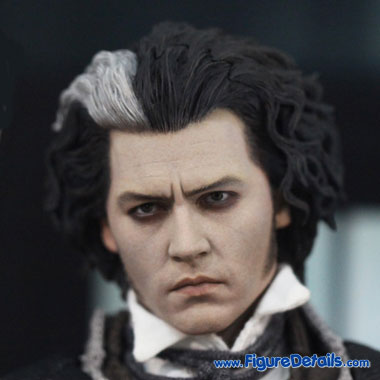Sweeney Todd Head Sculpt - Johnny Depp 3