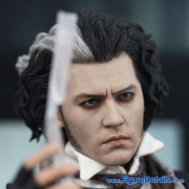 Sweeney Todd Head Sculpt - Johnny Depp 4
