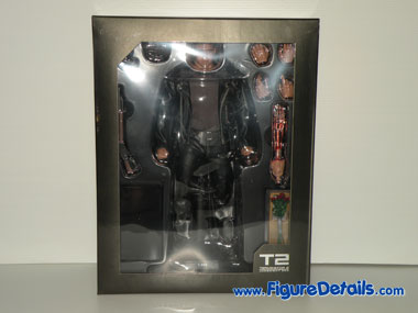 Hot Toys T800 Terminator 2 Action Figure Packing 1