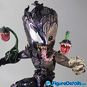 Venomized Groot Prototype Preview - Spider-Man Maximum Venom - Hot Toys - lms014