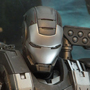 Hot Toys War Machine Action Figure MMS120 Iron Man 2