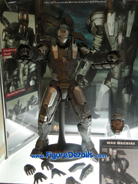 Hot Toys War Machine Overview 3