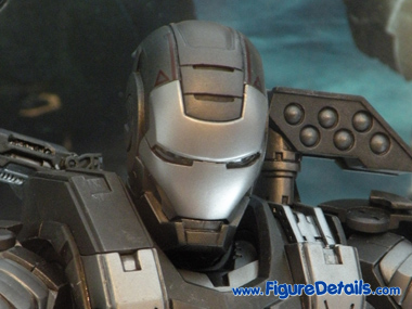Iron Man 2 War Machine MMS120 Close Up