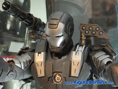 Iron Man 2 War Machine MMS120 Close Up 2