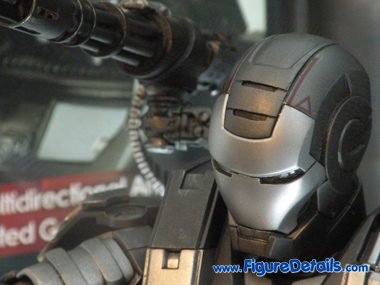 Iron Man 2 War Machine MMS120 Close Up 3