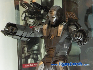 Iron Man 2 War Machine MMS120 Close Up 4