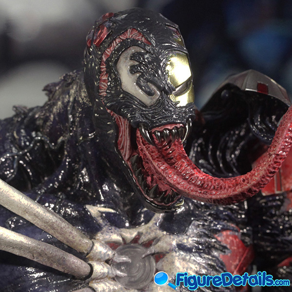 Hot Toys Venomized Iron Man Head Sculpt Prototype Preview 4