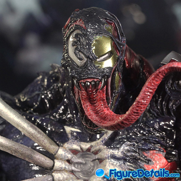 Hot Toys Venomized Iron Man Head Sculpt Prototype Preview 5