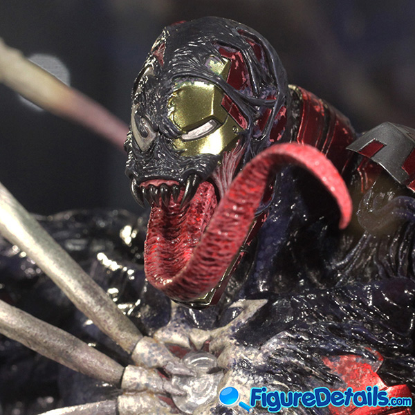 Hot Toys Venomized Iron Man Head Sculpt Prototype Preview 6