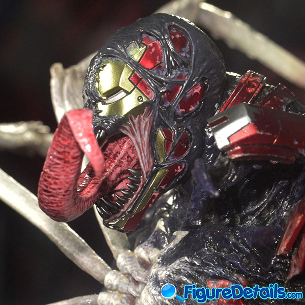 Hot Toys Venomized Iron Man Head Sculpt Prototype Preview 7