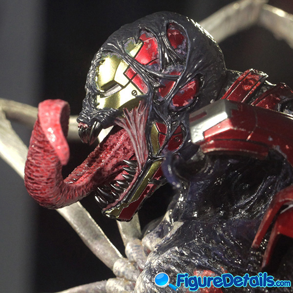 Hot Toys Venomized Iron Man Head Sculpt Prototype Preview 8