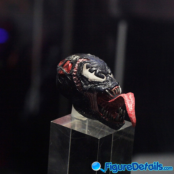 Hot Toys Venomized Iron Man Head Sculpt Prototype Preview 2