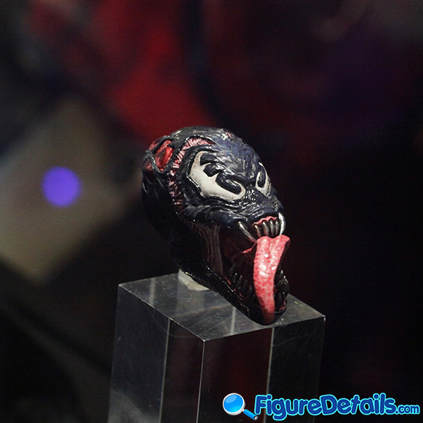 Hot Toys Venomized Iron Man Head Sculpt Prototype Preview 3