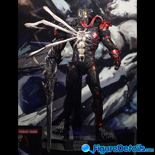 Hot Toys Venomized Iron Man Prototype Preview