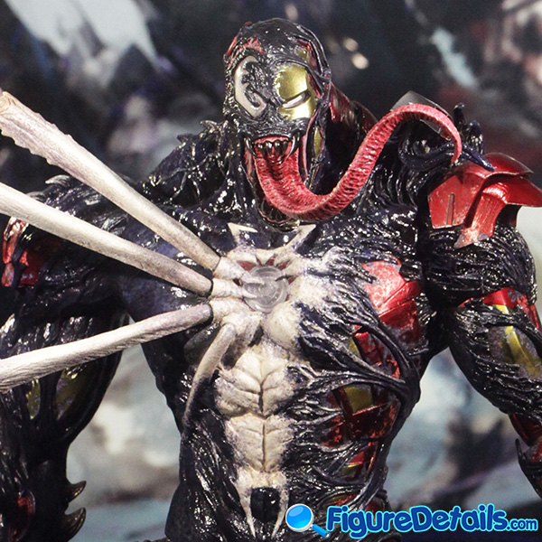 Hot Toys Venomized Iron Man Prototype Preview 2
