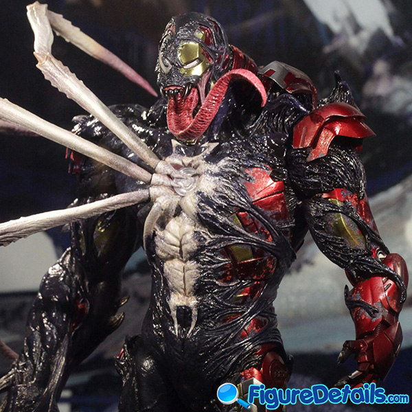 Hot Toys Venomized Iron Man Prototype Preview 8