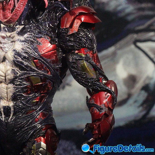 Hot Toys Venomized Iron Man Prototype Preview 10
